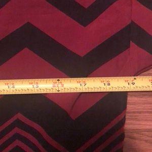Dresses - Chevron Dress, Size XL